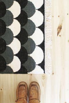 Bubbles carpet, Mum's + Susanna Vento