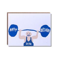 happy birthday strong man