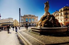 Montpellier, France :) I lived about a minute walk from this spot for 9ish months and I miss it...