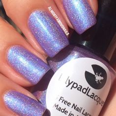 Lilypad Lacquer Violetta - Delicate Duos Collection (pinned from Almost Famous Nails). Bought from Llarowe (July 2014)