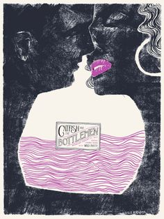 Catfish And The Bottlemen gig poster by Les Herman