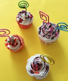 Mini cupcake segnaposto/portafoto