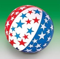 Amazon.com: 16 inch Patriotic Beach Ball single: Toys & Games