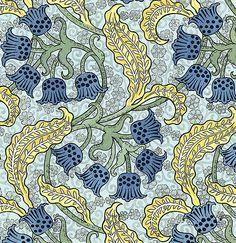 The Art Nouveau Blog: Floral Art Nouveau