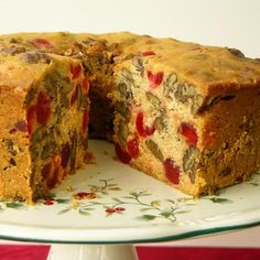 This holiday Fruitcake is loaded with candied cherries, pecans, and pineapple preserves. It is the fruitcake to bake for the season.