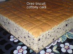 Cooking Pleasure: Oreo Biscuit Cottony Cake [Ogura]