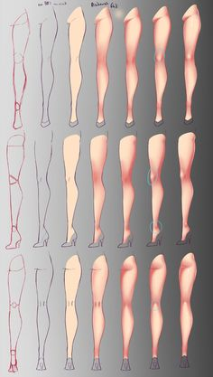 How I paint - Legs by rika-dono.deviantart.com on @DeviantArt - Tap the LINK now to see all our amazing accessories, that we have found for a fraction of the price <3