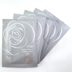 TiRivoire ansiktsmask (sheet mask)  Lady - Evening Breeze Collagen Mask 5 Pack