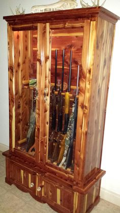 Aromatic Cedar Gun Cabinet