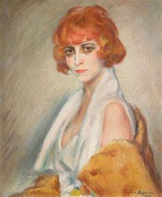Jean de Gaigneron La marchesa-Casati-1922 Collezione Lucile Audouy