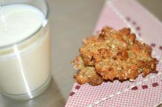 De her crunchy cookieser så gode og kan tage selv den værste lækker sult.. Opskriften får i nedenfor... Til ca. 15 Cookies skal du bruge følgende: 2 bananer -2 spsk. peanut butter -1 dl. saltede peanuts -1 dl. kokos mel -1 æg -1 tsk bagepulver - 3 dl (glutenfri) havregryn....