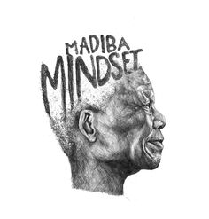 The Greatest Human of them all.  Portrait of Nelson Mandela for the book Madiba Mindset.