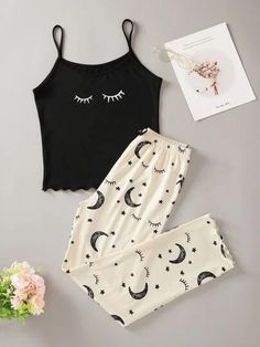 Really Cute Outfits, Cute Lazy Outfits, Stylish Outfits, Girls Fashion Clothes, Teen Fashion Outfits, Girl Outfits, Cute Pajama Sets, Cute Pajamas, Cute Sleepwear