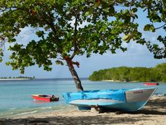 Paradise Beach in Carriacou is a short but scenic ferry ride away from St. Georges on the island of #Grenada #Caribbean #travel #dreams