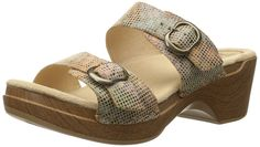 Dansko Women's Sophie Sand Stained Glass Wedge Sandal *** Find out more details by clicking the image : Dansko sandals