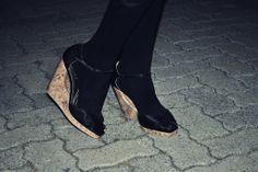 Peep-toe Wedges Peep Toe Wedges, Peeps, Runway, Shoes, Fashion, Cat Walk, Moda, Walkway, Zapatos