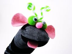 Maňásek ponožkáček č.441