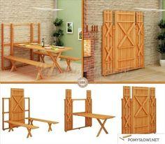 Genialna ławka ogrodowa! - Pomyslowi.net