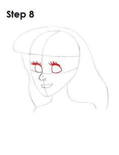 How to draw ariel step 10 disney princess drawings, disney sketches, disney drawings, Cinderella Drawing, Disney Princess Drawings, Disney Sketches, Disney Drawings, Disney Princesses, Drawing Ariel, Drawing Cartoon Characters, Cartoon Drawings, Easy Drawings