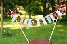 Birthday Cake Banner Tutorial