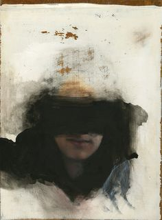 nearlya: Kenichi Hoshine, 2012 small new painting, oil on wood
