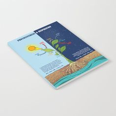 Photosynthesis Notebook by Grafokids - x Lined Photosynthesis, Notebook, Blog, Products, Blogging, Beauty Products, Exercise Book, The Notebook