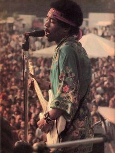 Hendrix at Woodstock