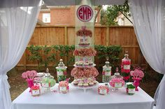 Adorable Lilly themed party via Nico and LaLa.