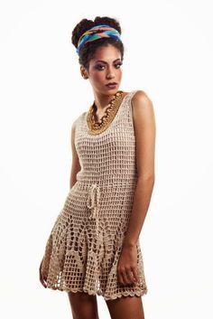 Vestidos de Crochetc