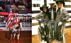 The Grand Entry Gals Of The Fort Worth Stock Show And Rodeo - COWGIRL Magazine