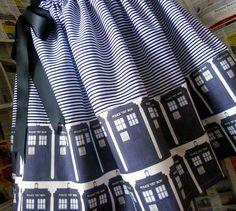 Doctor Who Tardis skirt