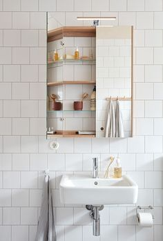 This seems ideal Bathroom Ideas Small Remodel Upstairs Bathrooms, Mirror Cabinets, Cabinet, Bathroom, White Bathroom, Bathroom Mirror Cabinet, Washbasin Design, Bathroom Cabinets, Bathroom Inspiration