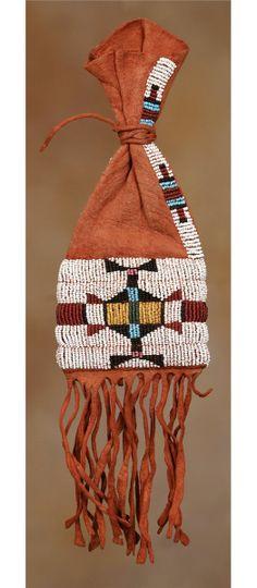 Cheyenne Beaded Paint Bag