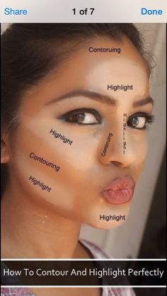 The Best Way To Contour And Highlight #Beauty #Trusper #Tip