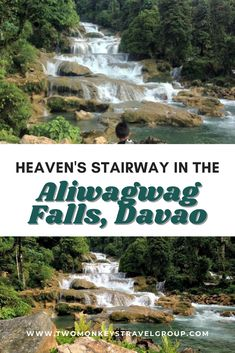 We do have different choices of places but we surely have the same purpose: we just want to enjoy and relax, and definitely, we wander because we want to see and discover the wonders of the world that God has created. We can't say how beautiful it is unless we've seen it, right? Check out Aliwagwag Falls in Davao.