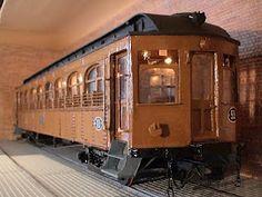 Remolque de automotor de los FF CC de Cataluña, trenes a Terrassa y Sabadell.