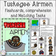 African American History Tuskegee Airman Flashcards Compre