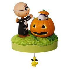 Trick or Treat? The Peanuts® Gang Halloween Musical Ornament