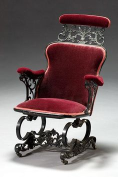 the worlds first swivel chair, as invented by none other than