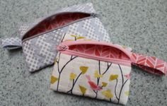 Zippered pouch #tutorial