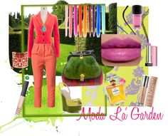 """Moda La' Garden"" by rhinestonesandrouge on Polyvore"