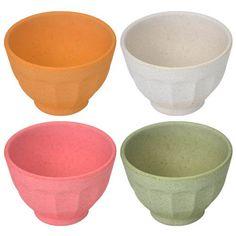 Bowls Fibra de Bambu Color 4 pcs