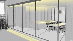 Nulty - Residential Modern Minimalist Living Space Lighting Design