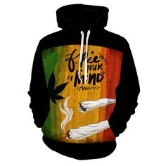 Rasta Tattoo, Rasta Clothing, Weed Hoodies, Rasta Art, Peace And Love, Gifts For Him, Zip Ups, Fashion Outfits