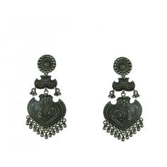 Long silver earrings online are the perfect blend of tradition and modernity with exclusive design done by artisans from Rajasthani Villages.