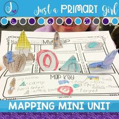 Map Unit: for kindergarten, first and second graders. I created this pack as additional resources to our Social Studies curriculum. I wanted something simple that my students could work on independently after teaching. I wanted it to be vocabulary rich with picture cues for my striving readers. I hope you enjoy this pack. I will be adding more to it little by little.