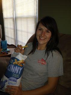 The Secret Life of Kelsey: Hi I'm Skinny Snacks Review Skinny Sticks, Potato Chips, Secret Life, Snacks, Women, Appetizers, Potato Chip, Chips, Treats