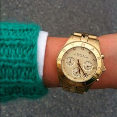 Starting to like Marc Jacobs watches more than Michael Kors.