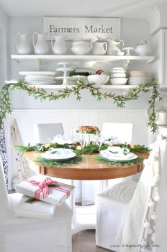 Christmas home tour 2016   dining room setting inspiration and ideas for your holiday dinner