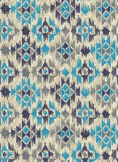 Ikat Dance pattern by lorchard on WeaveUp Textile Pattern Design, Geometric Pattern Design, Ikat Pattern, Textile Patterns, Textile Prints, Pattern Art, Print Patterns, Indian Embroidery Designs, Leaf Wall Art
